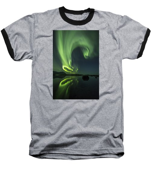 Swirl Baseball T-Shirt