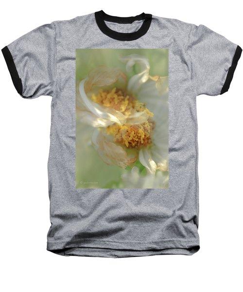 Flower Swirl.... Baseball T-Shirt