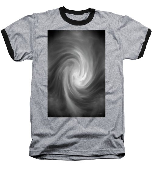 Swirl Wave Iv Baseball T-Shirt