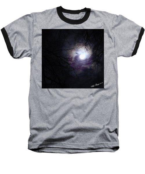 Swirling Around Baseball T-Shirt