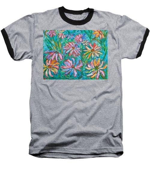 Swirling Color Baseball T-Shirt