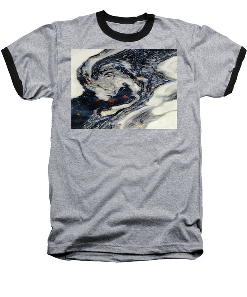 Swirling Current Baseball T-Shirt
