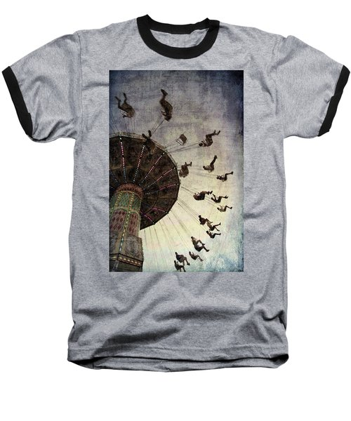 Swirling.... Baseball T-Shirt by Russell Styles