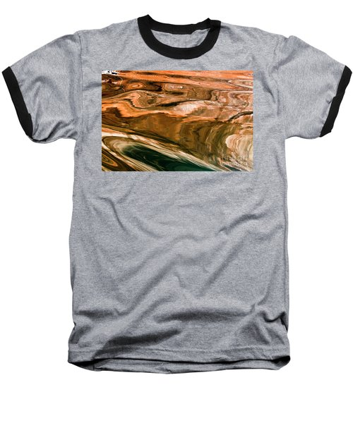 Swirls Baseball T-Shirt