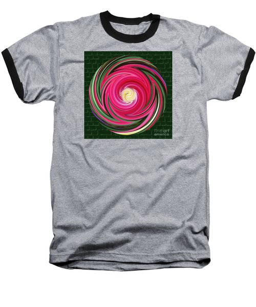 Baseball T-Shirt featuring the photograph Swirls Of Color by Sue Melvin