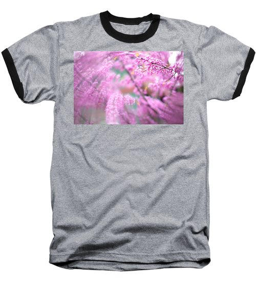 Swirls Of Spring Baseball T-Shirt
