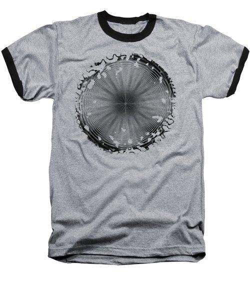 Swirly 2 Baseball T-Shirt