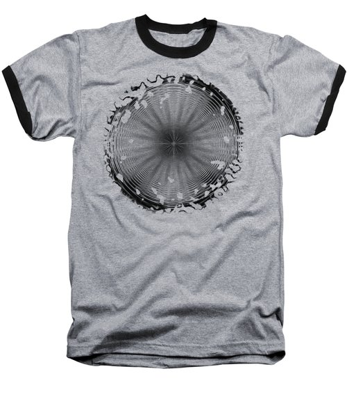 Swirly 2 Baseball T-Shirt