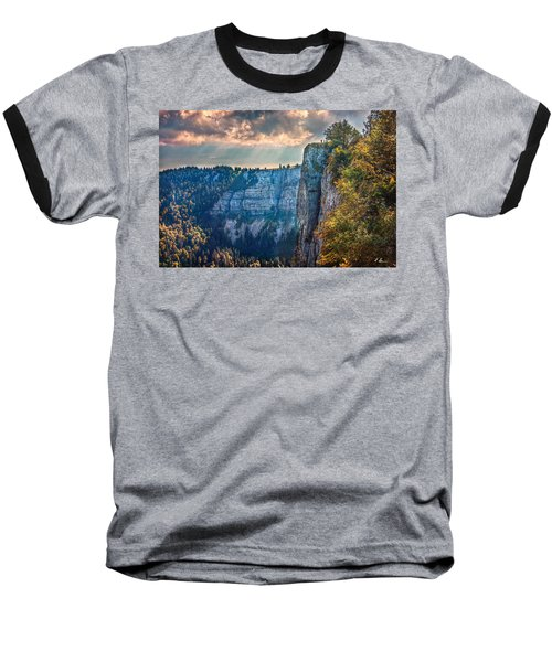 Swiss Grand Canyon Baseball T-Shirt
