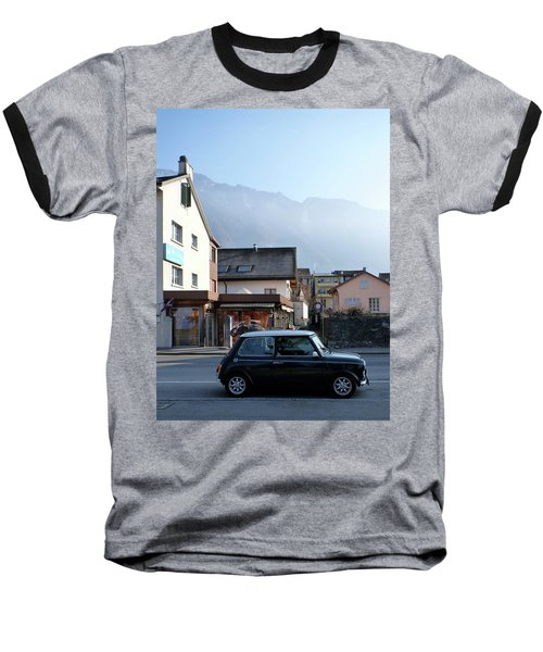 Swiss Mini Baseball T-Shirt by Christin Brodie