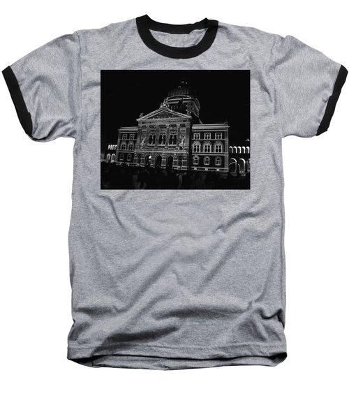 Swiss Parliament - Bern Baseball T-Shirt