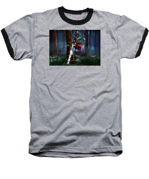 Sword And Rose Baseball T-Shirt by Alessandro Della Pietra