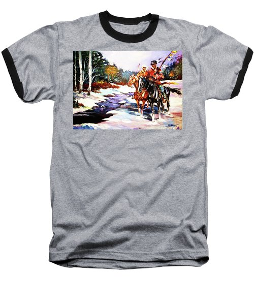 Snowbound Hunters Baseball T-Shirt