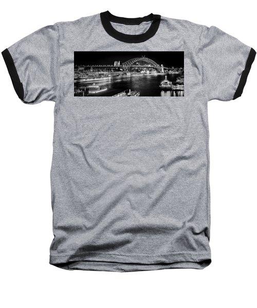 Sydney - Circular Quay Baseball T-Shirt