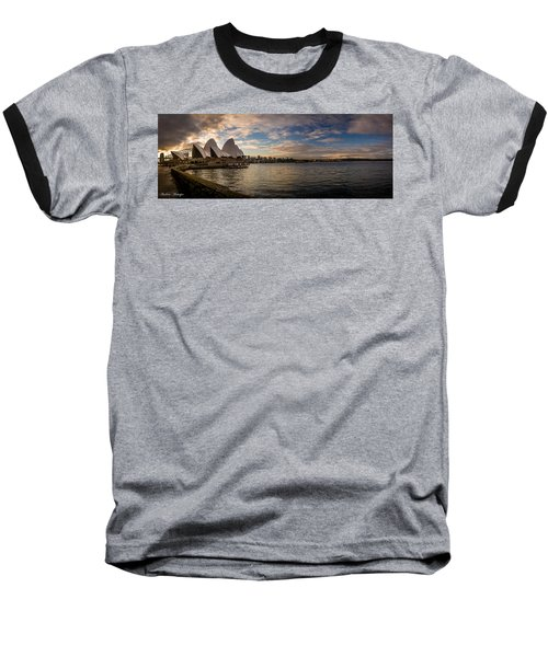 Baseball T-Shirt featuring the photograph Sydney Harbor by Andrew Matwijec