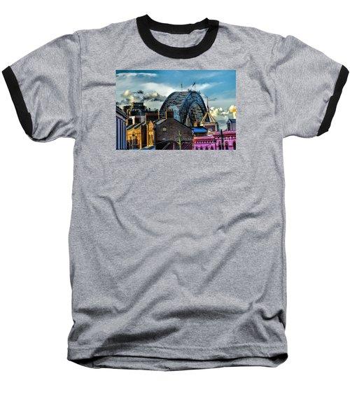Sydney Harbor Bridge Baseball T-Shirt