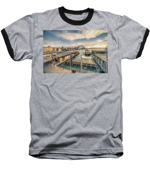 Sydney Harbor I Baseball T-Shirt
