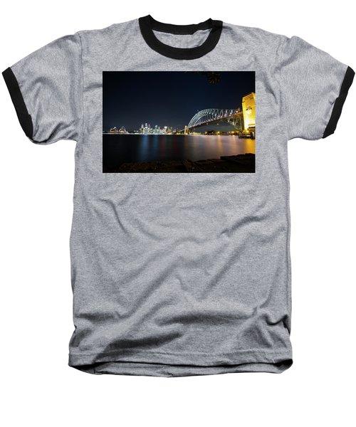 Sydney Harbour Silk Baseball T-Shirt