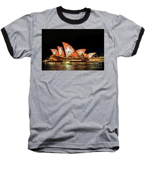 Ochre On Opera Baseball T-Shirt