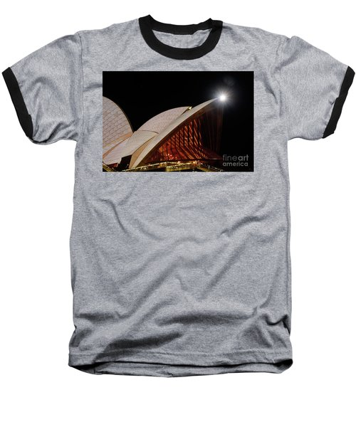 Baseball T-Shirt featuring the photograph Sydney Opera House Close View By Kaye Menner by Kaye Menner