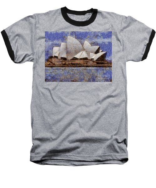 Sydney Opera House Baseball T-Shirt