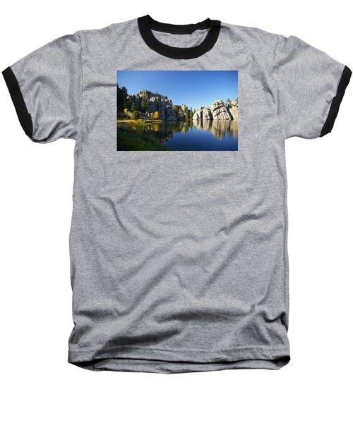 Sylvan Lake, Custer South Dakota Baseball T-Shirt by Karen Cade