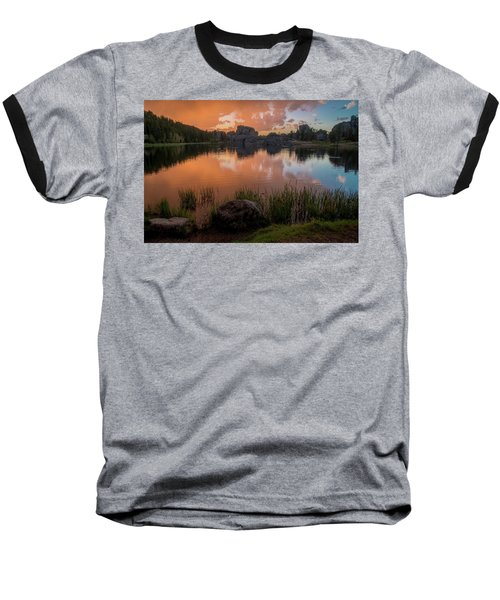 Baseball T-Shirt featuring the photograph Sylvan Lake by Gary Lengyel