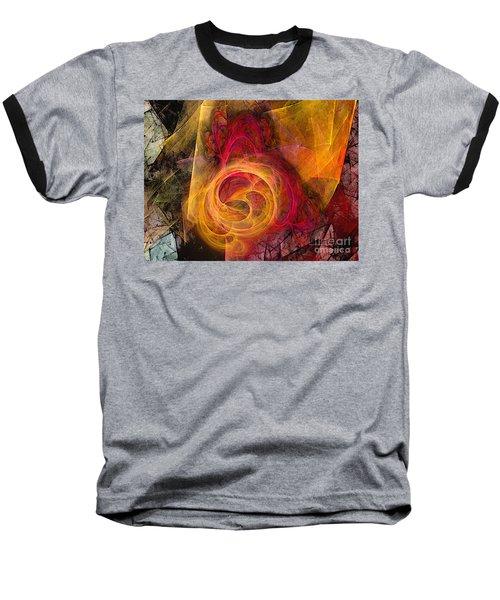 Symbiosis Abstract Art Baseball T-Shirt