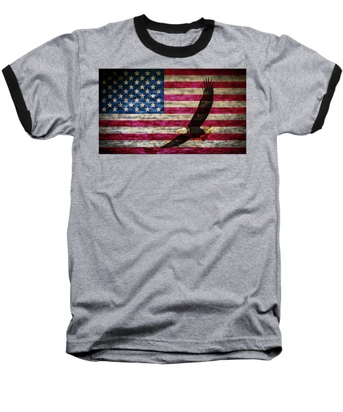 Symbol Of Freedom Baseball T-Shirt