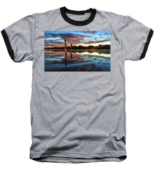 Symetry On The River Baseball T-Shirt