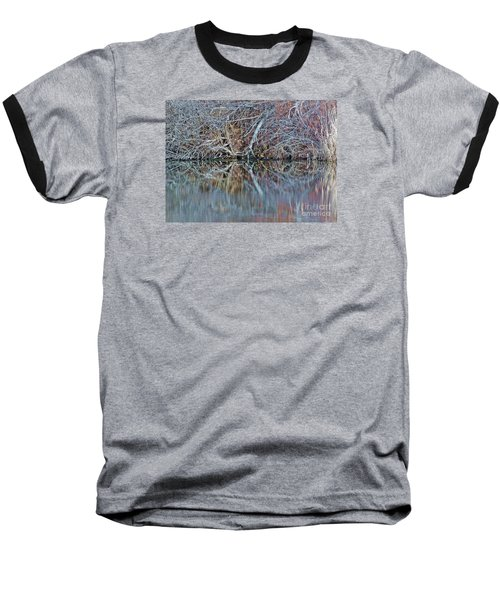 Symmetry Baseball T-Shirt by Christian Mattison