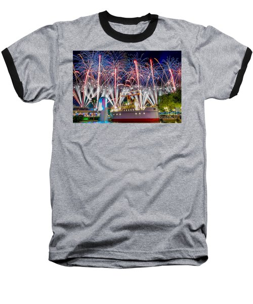 Symphony In The Stars As Seen Around Echo Lake Baseball T-Shirt