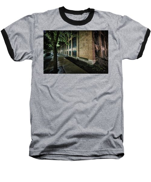 Baseball T-Shirt featuring the photograph Syracuse Sidewalks by Everet Regal