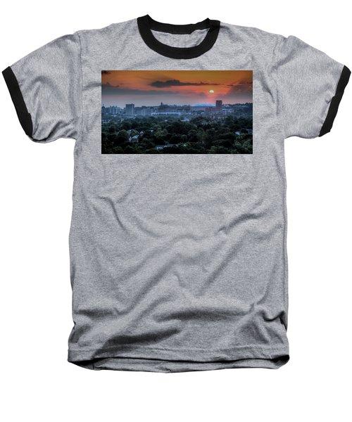 Syracuse Sunrise Baseball T-Shirt by Everet Regal
