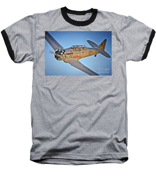 T-6 Texan Race 90 Baseball T-Shirt
