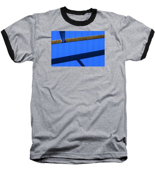 Baseball T-Shirt featuring the photograph T Point by Prakash Ghai