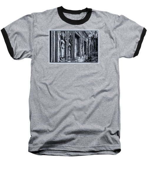 Ta Phrom Cambodia Baseball T-Shirt