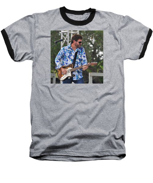 Tab Benoit And 1972 Fender Telecaster Baseball T-Shirt