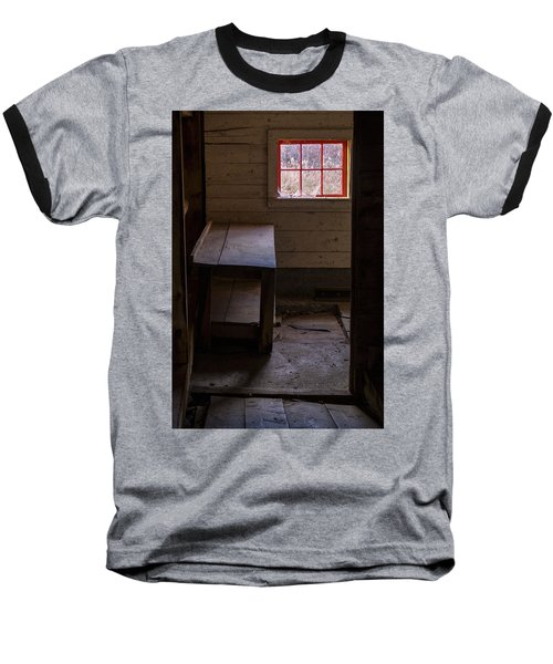 Table And Window Baseball T-Shirt