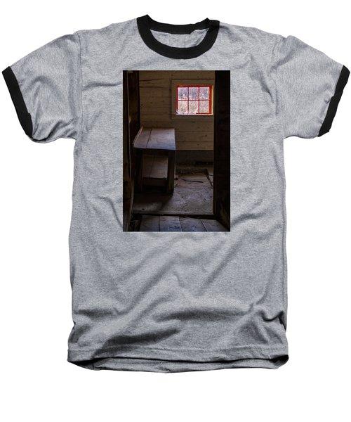 Table And Window Baseball T-Shirt