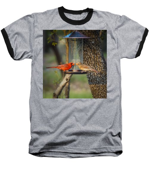 Baseball T-Shirt featuring the photograph Table For Two by Debbie Karnes