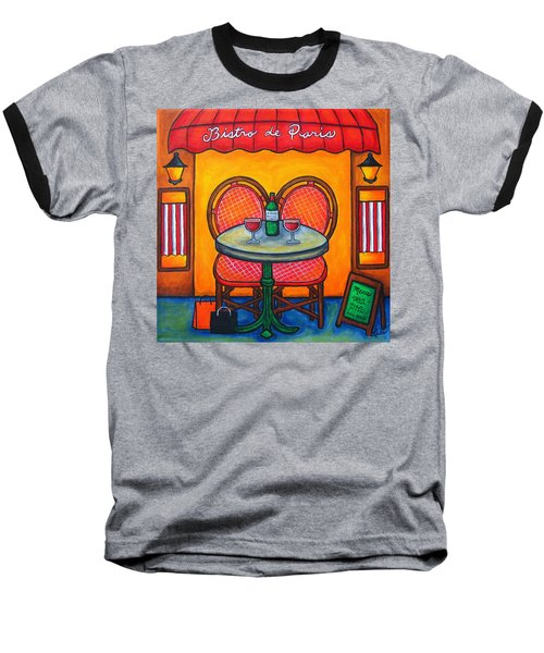 Table For Two In Paris Baseball T-Shirt