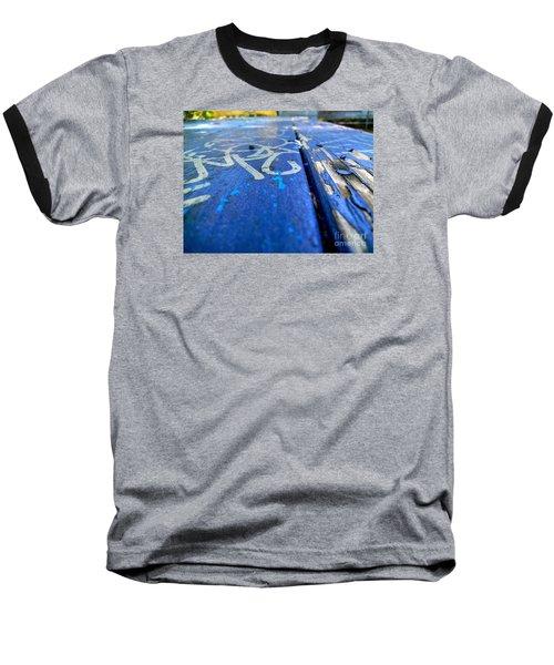 Table Graffiti Baseball T-Shirt by KD Johnson