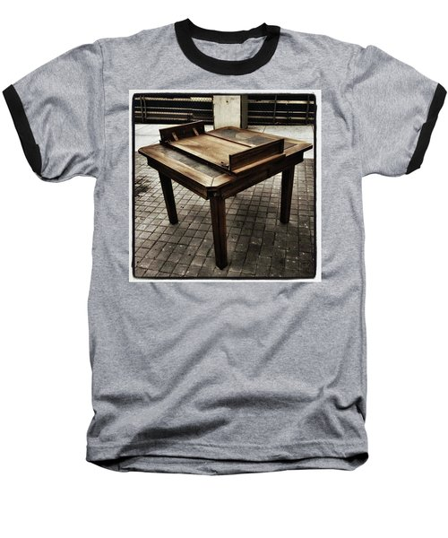 Baseball T-Shirt featuring the photograph Table That Thought. This Beautiful by Mr Photojimsf