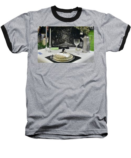 Tablescape Baseball T-Shirt