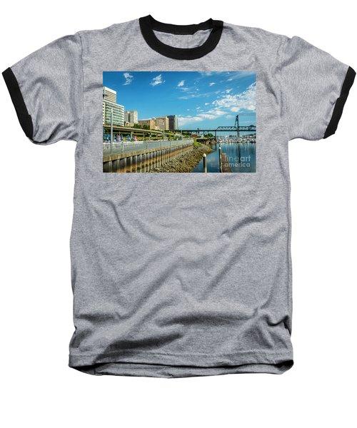 Tacoma And 11th Street Bridge Baseball T-Shirt
