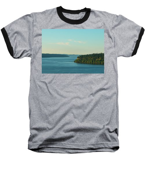Tacoma Narrows And Commencement Bay II Baseball T-Shirt