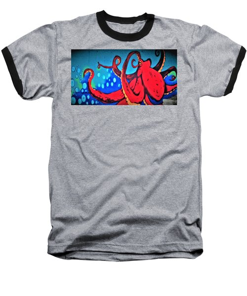 Tacoma Octopus  Baseball T-Shirt
