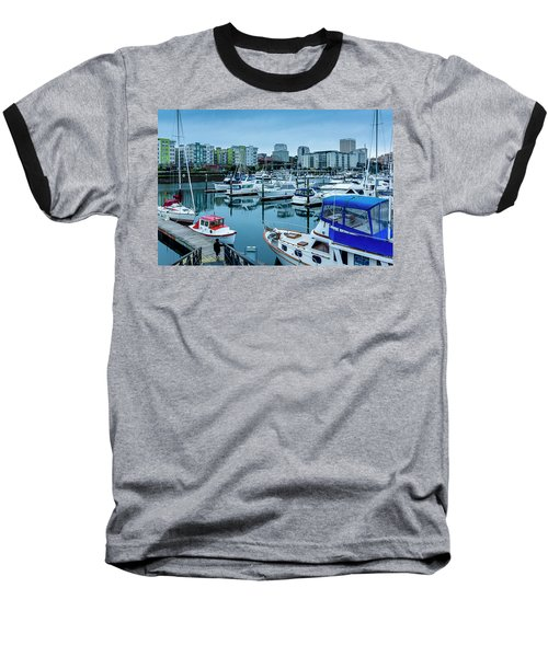 Tacoma Waterfront Marina,washington Baseball T-Shirt