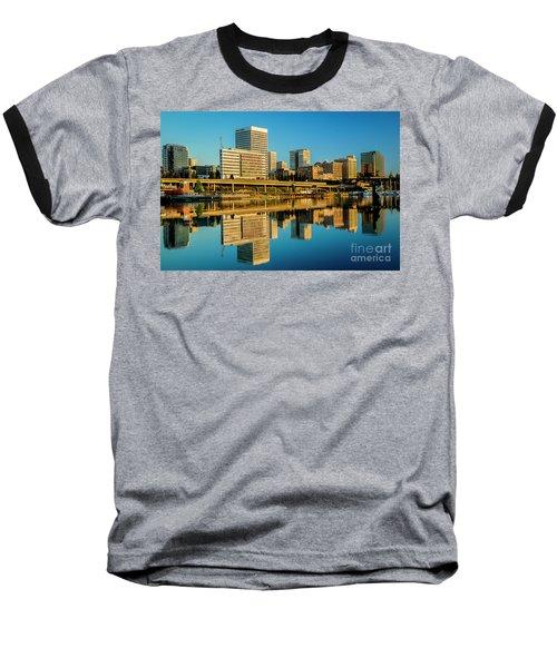 Tacoma's Waterfront,washington Baseball T-Shirt